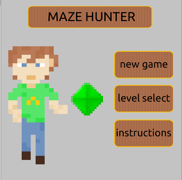 maze hunter game processing